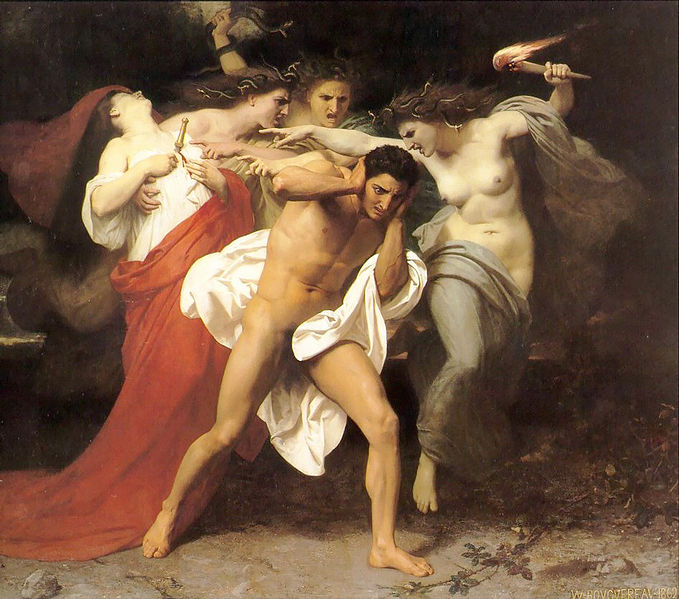 Bouguereau_Remorse_of_Orestes_(1862)