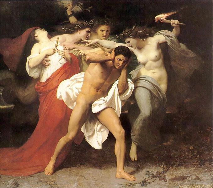 Bouguereau_Remorse_of_Orestes_(1862)